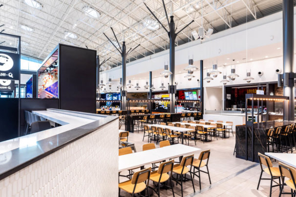 Photo of CF Chinook Centre Dining Hall Renovation